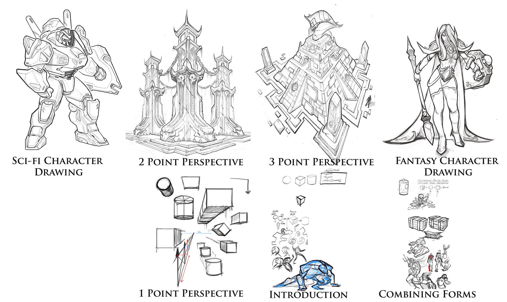 The Concept Art Of David Harrington