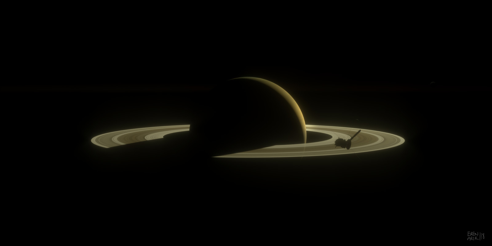 Cassini Approaching