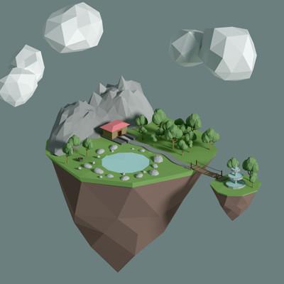 Jan golicnik floating island edited gimp
