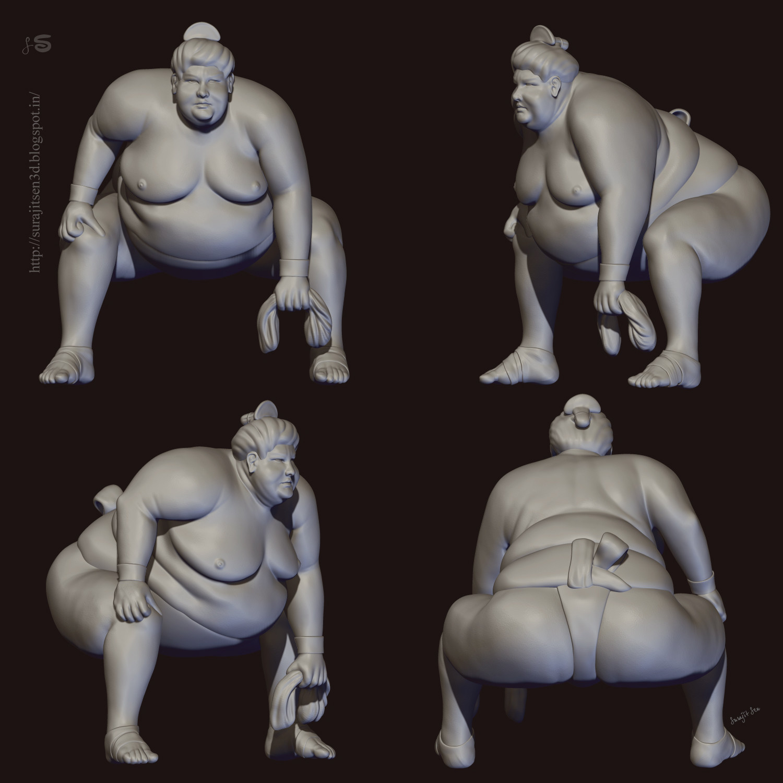 Surajit sen crazy sumo snaps surajitsen 13072018