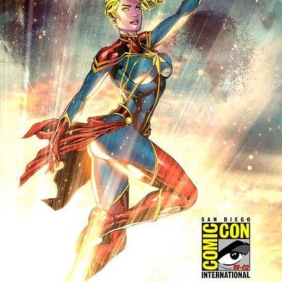 Ace continuado captain marvel colored