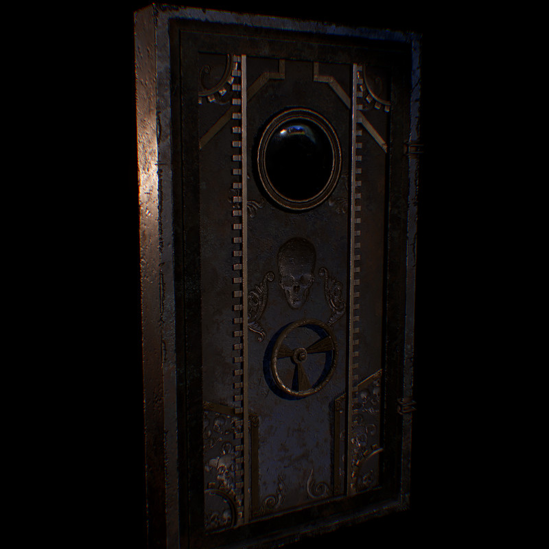 Steampunk Door - A Story of Hope