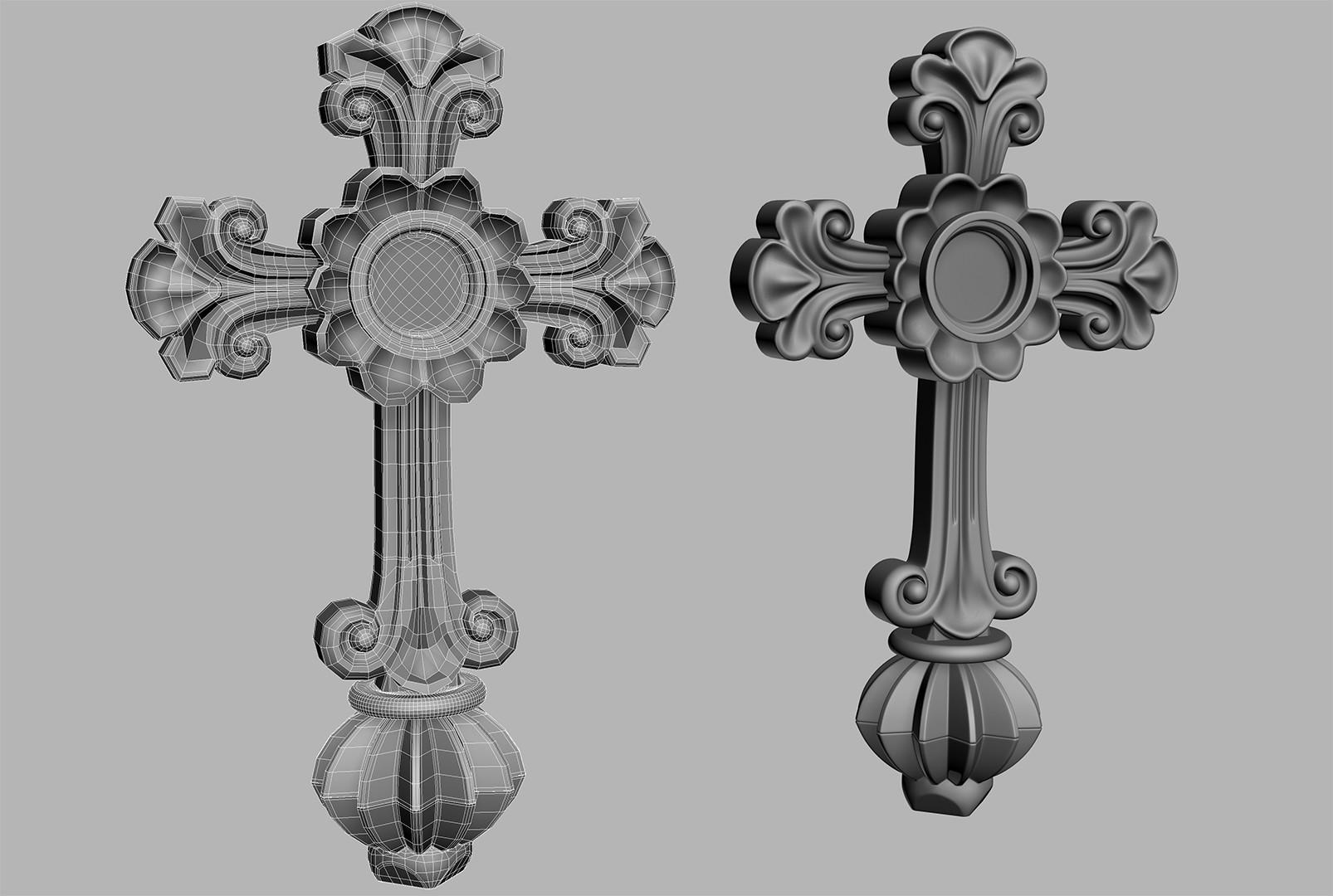 Walid k perrussel ornement croix