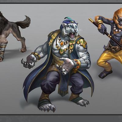 Egil thompson creature illustrations 02