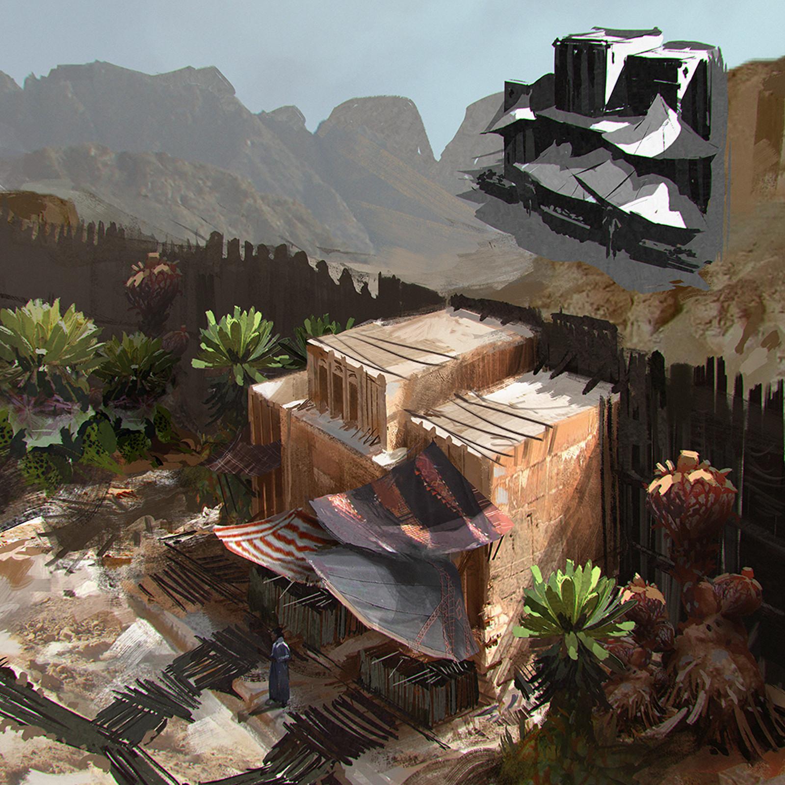 Environment Concept Art | Desert