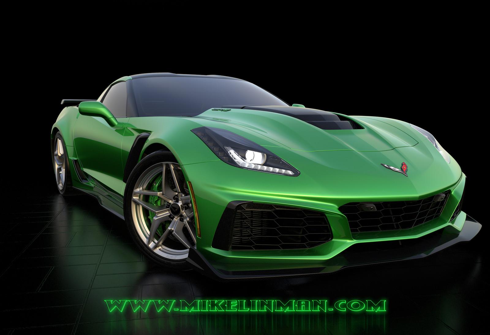 Corvette ZR1 VoltGreen