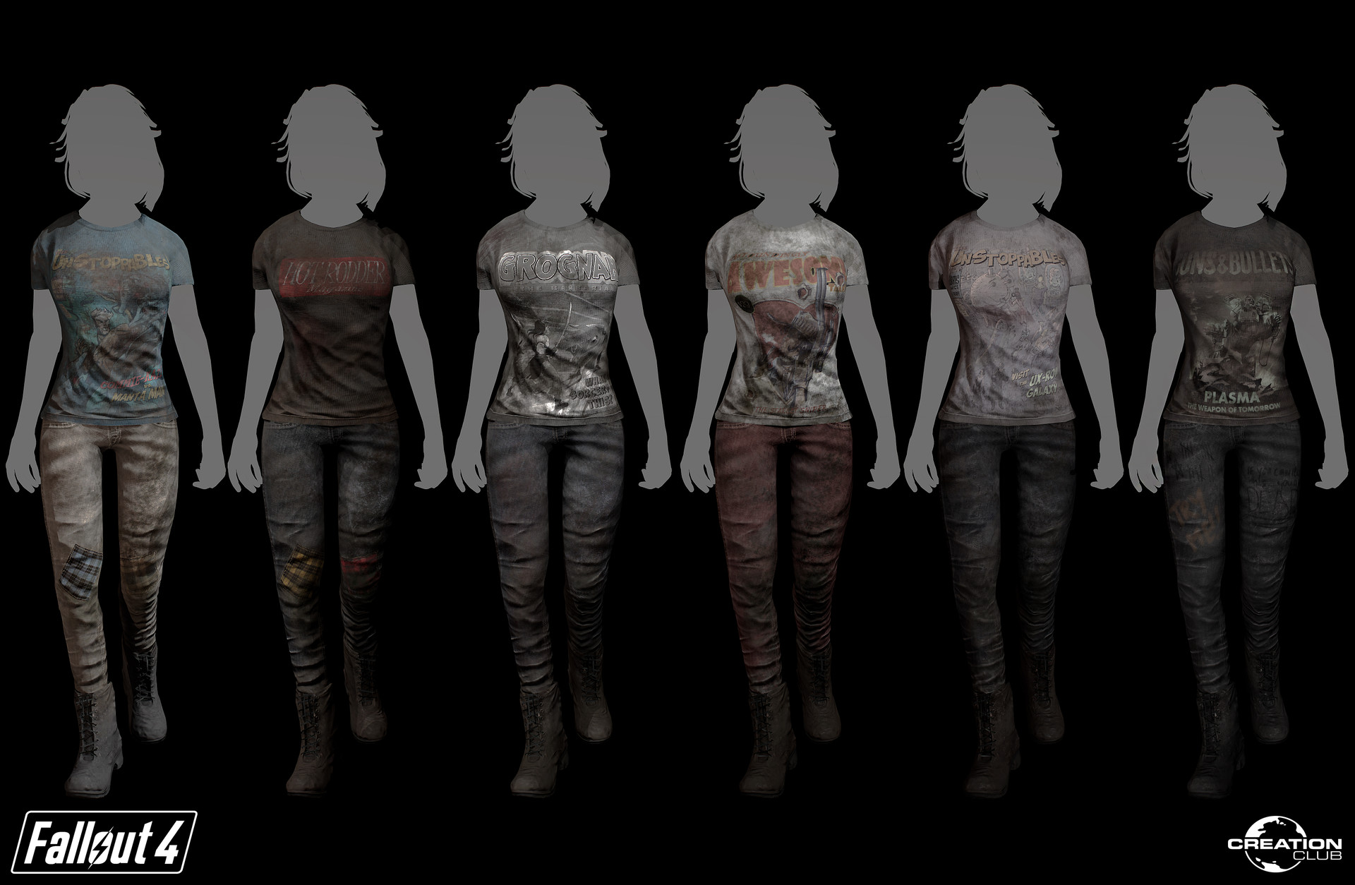 ArtStation - Graphic T-Shirt Pack - Creation Club - Fallout