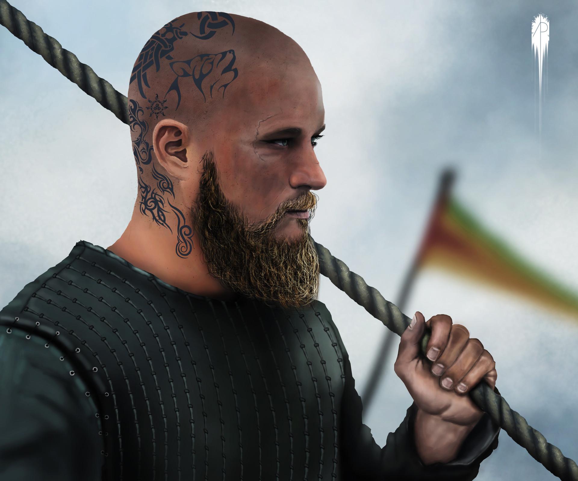 artstation vikings ragnar lodbrok masoud gh
