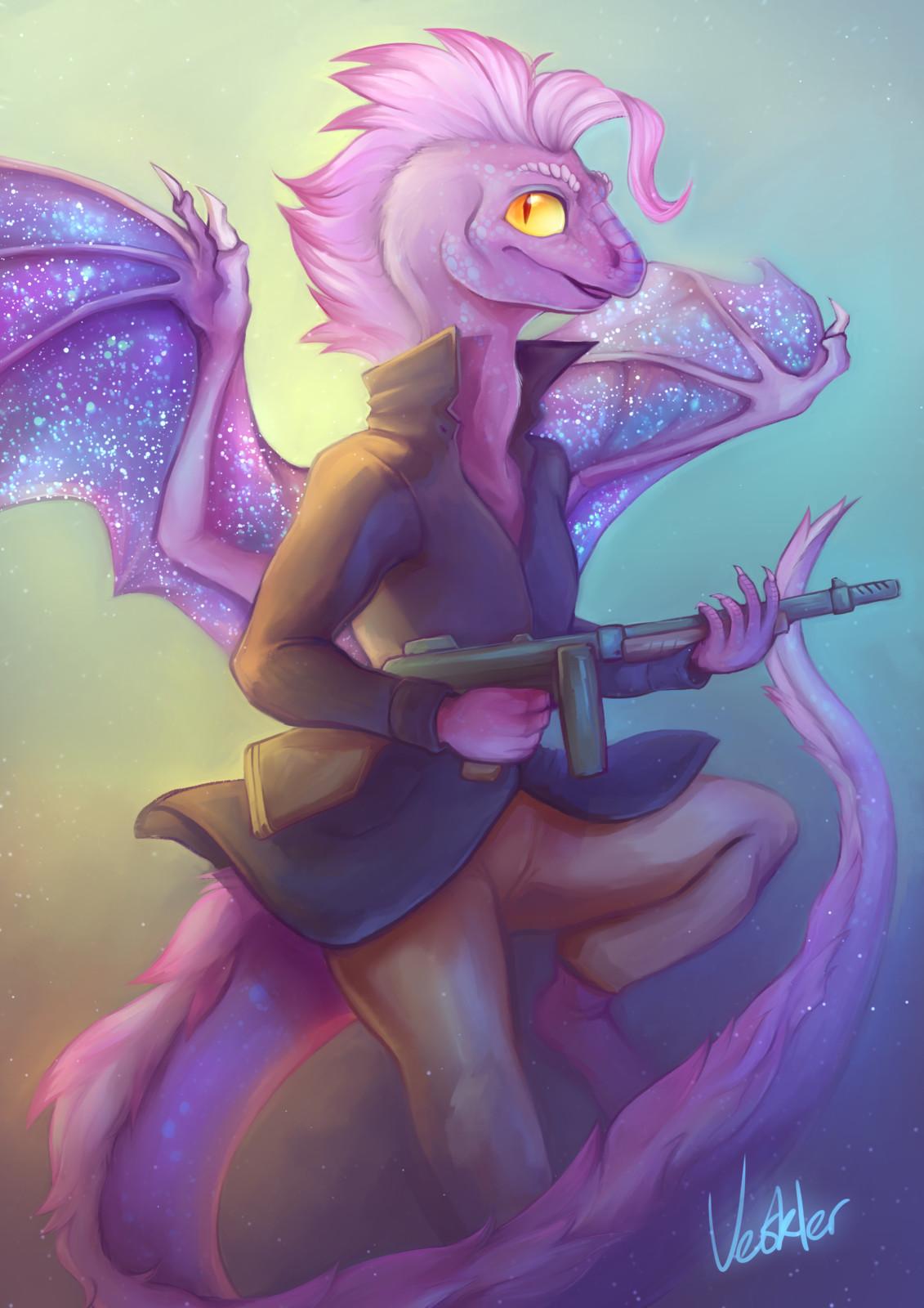 my original character Mena
