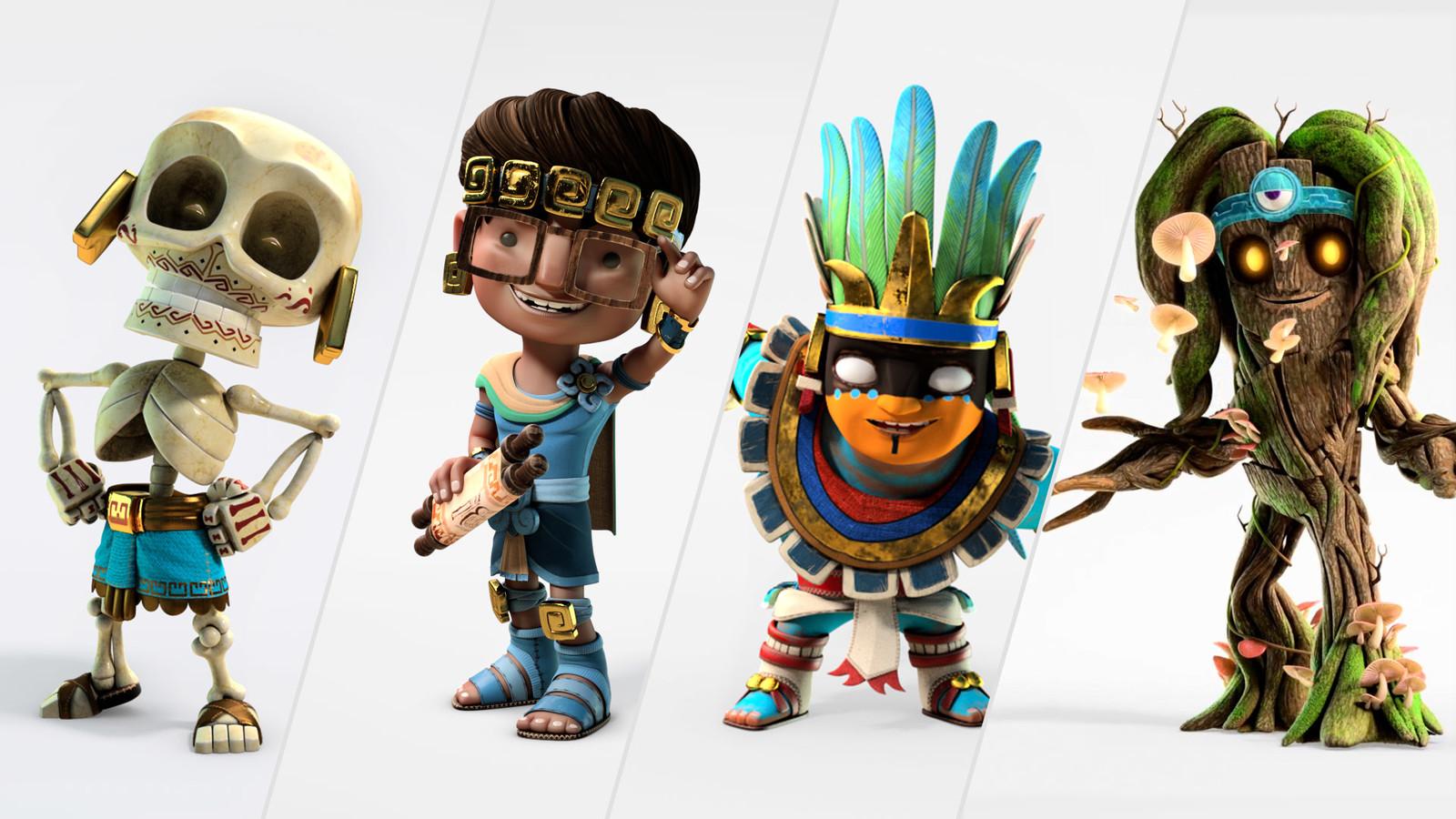 Amikoo Characters