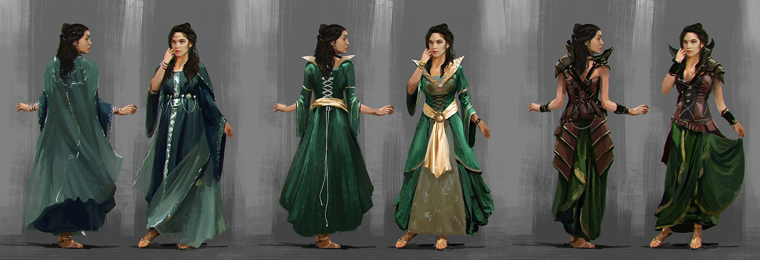 Character Concept Art | Costumes