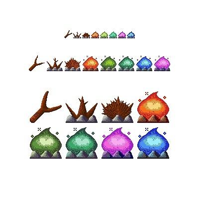 Pyramid pug asset