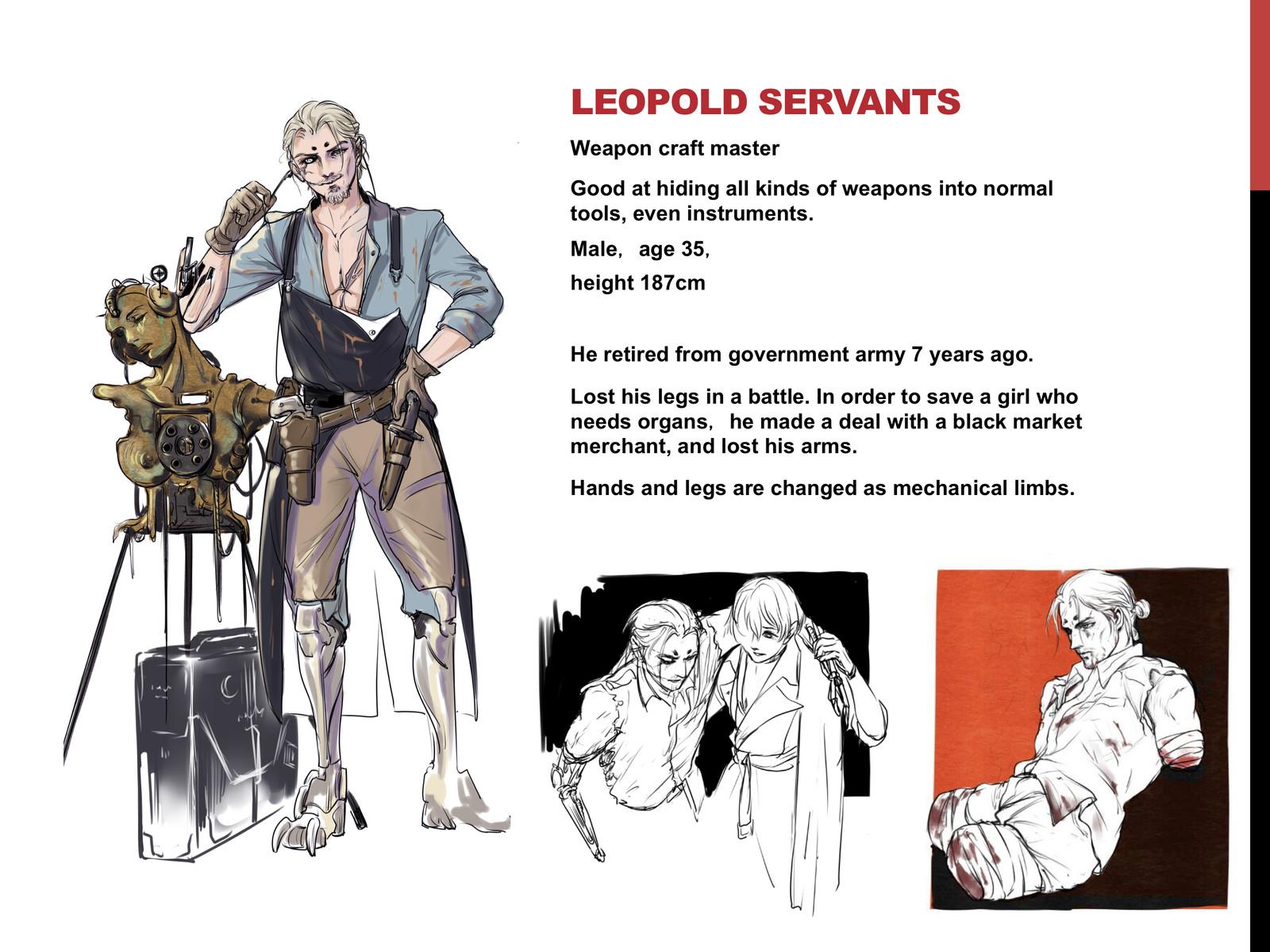Main Character 1 Leopold Servantes