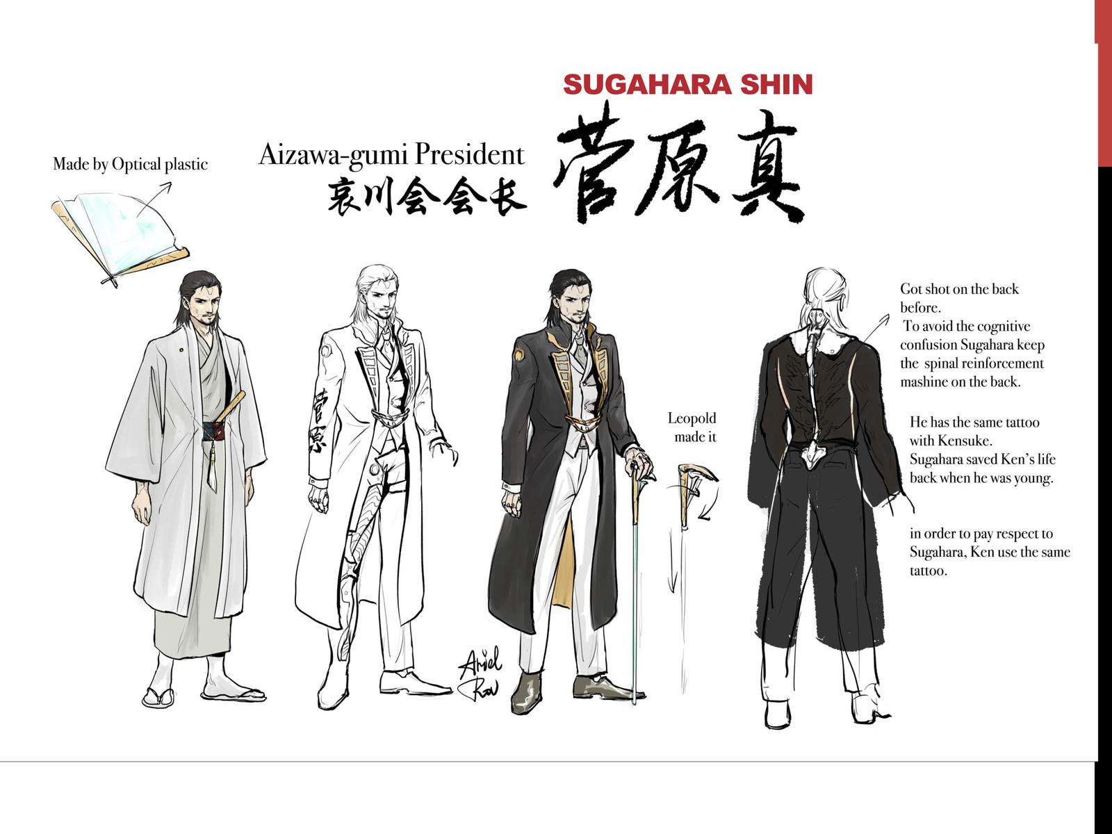 Yakuza Characters 1