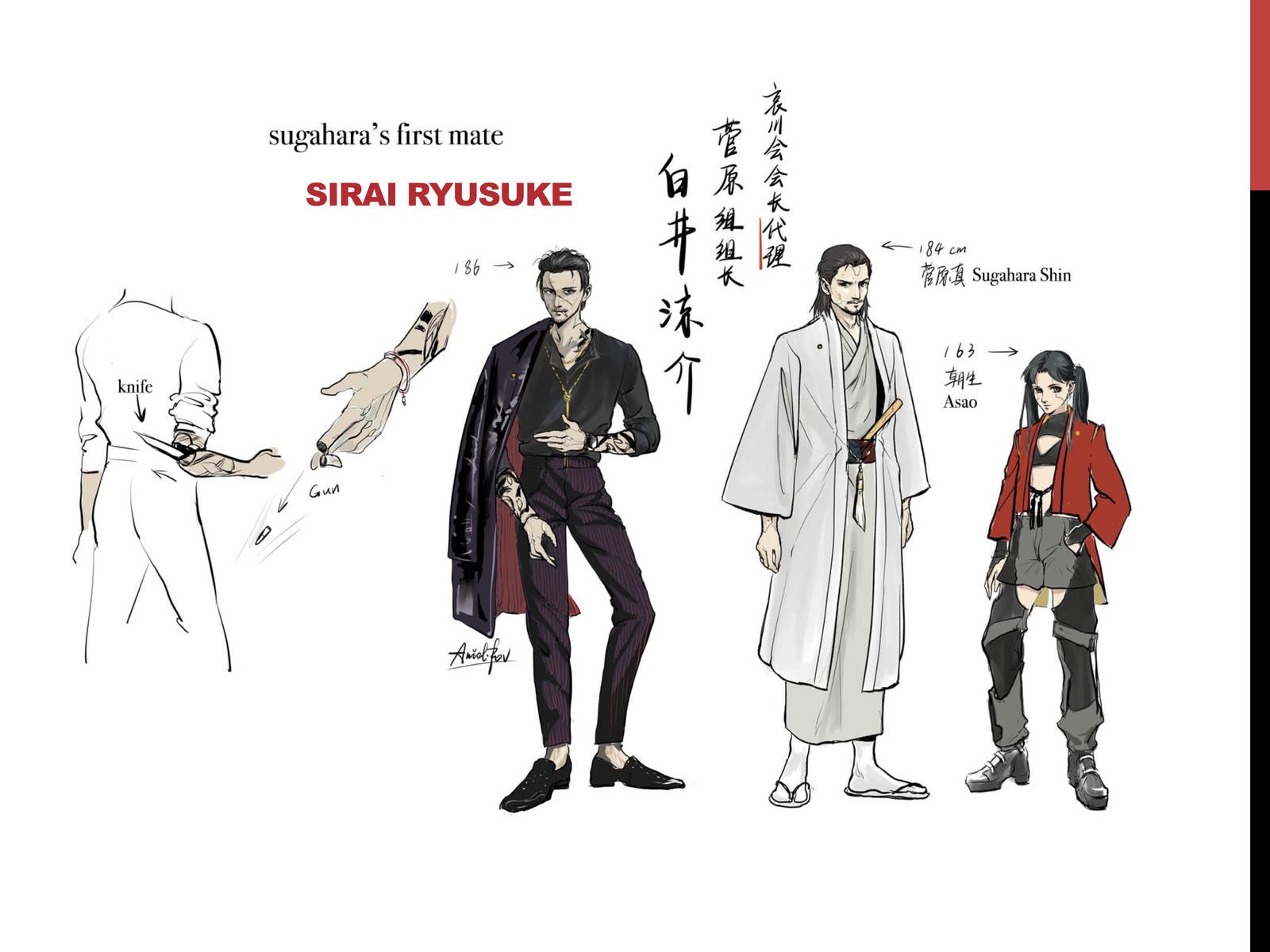 Yakuza Character 3