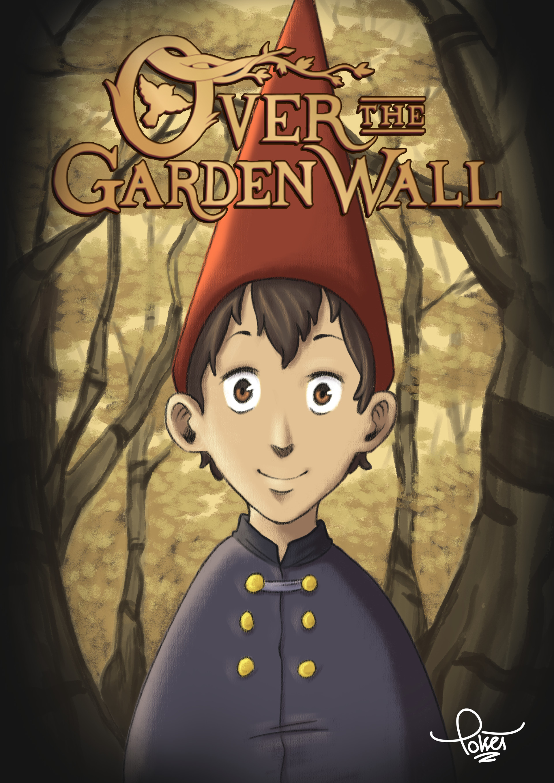 Silvio Cafferati - 🌲🐸🌲. Over the Garden Wall FanArt. Wirt. 2018.