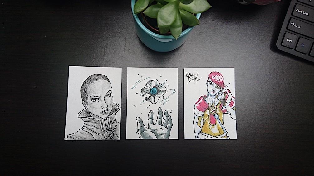 Amy seaman d2 sketch cards 01