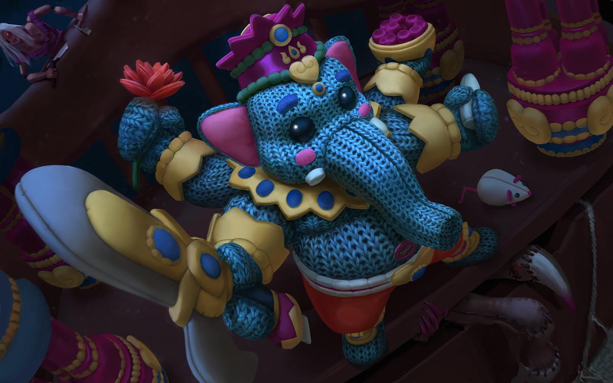 Ganesha Plushie