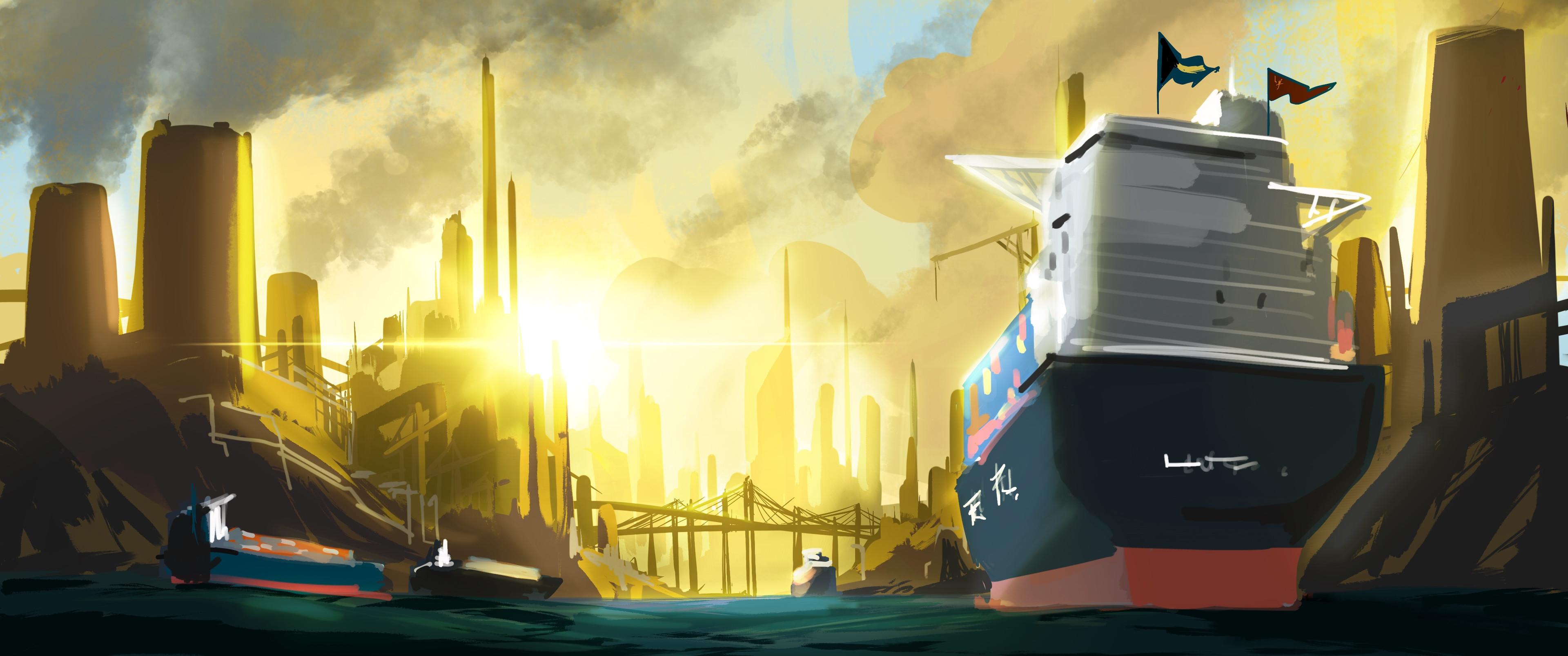 Industrial Island