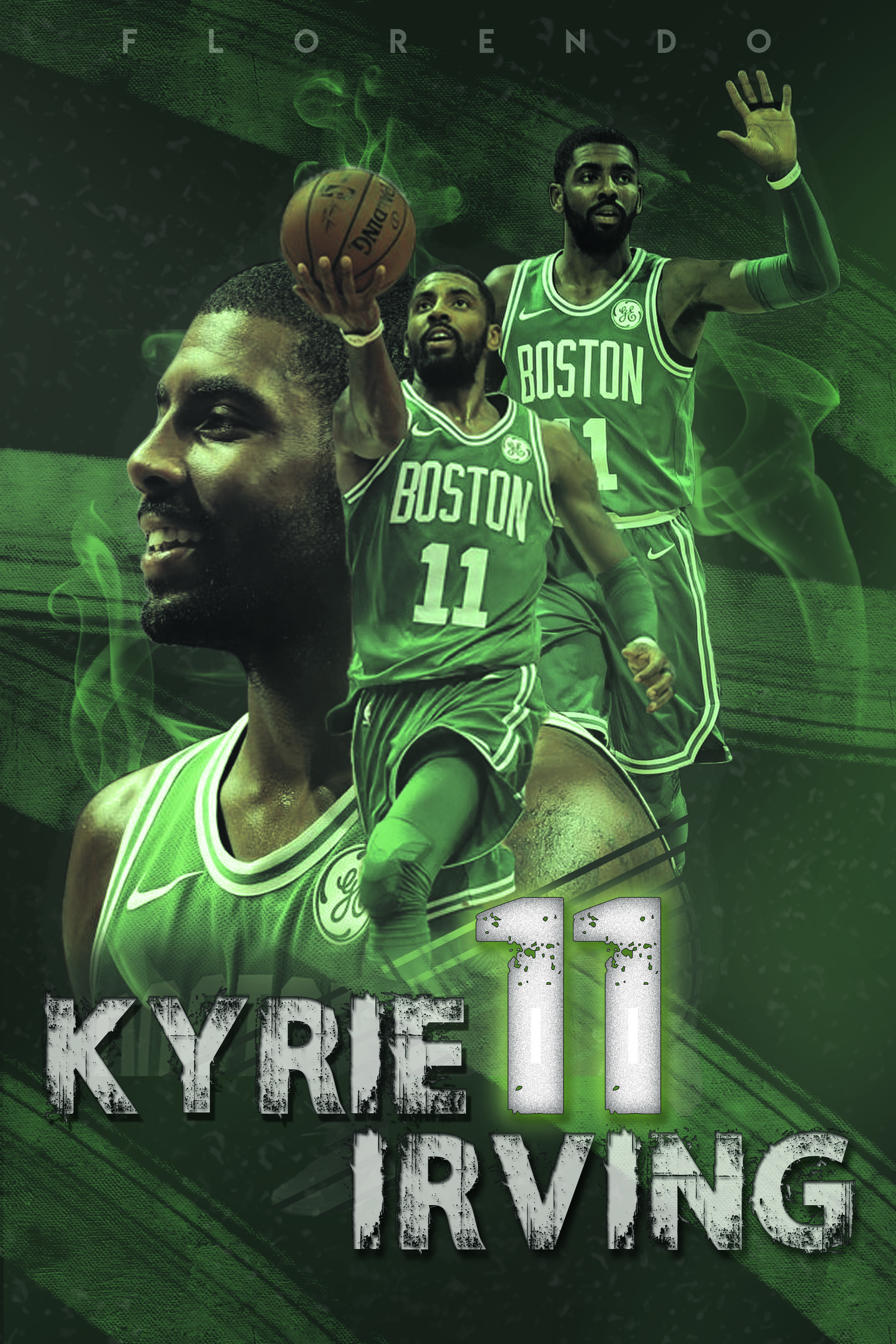 Hero Florendo - KYRIE IRVING (POSTER DESIGN)