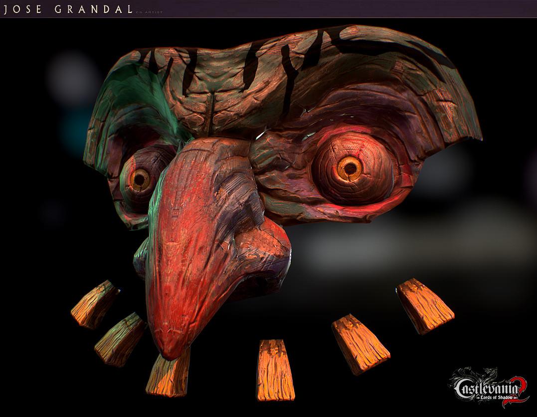 Castlevania: Lords of Shadow 2. Big Clown Head
