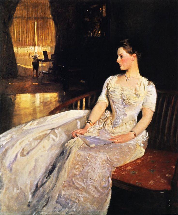 Portrait of Mrs Cecil Wade - John Singer Sargent 1886