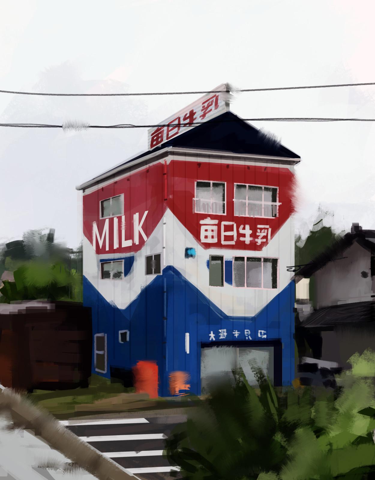 Milk House - Study