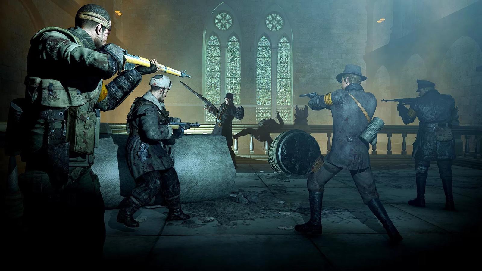 SE Nazi Zombie Army (2013)  Level 2   Cathedral of Resurrection