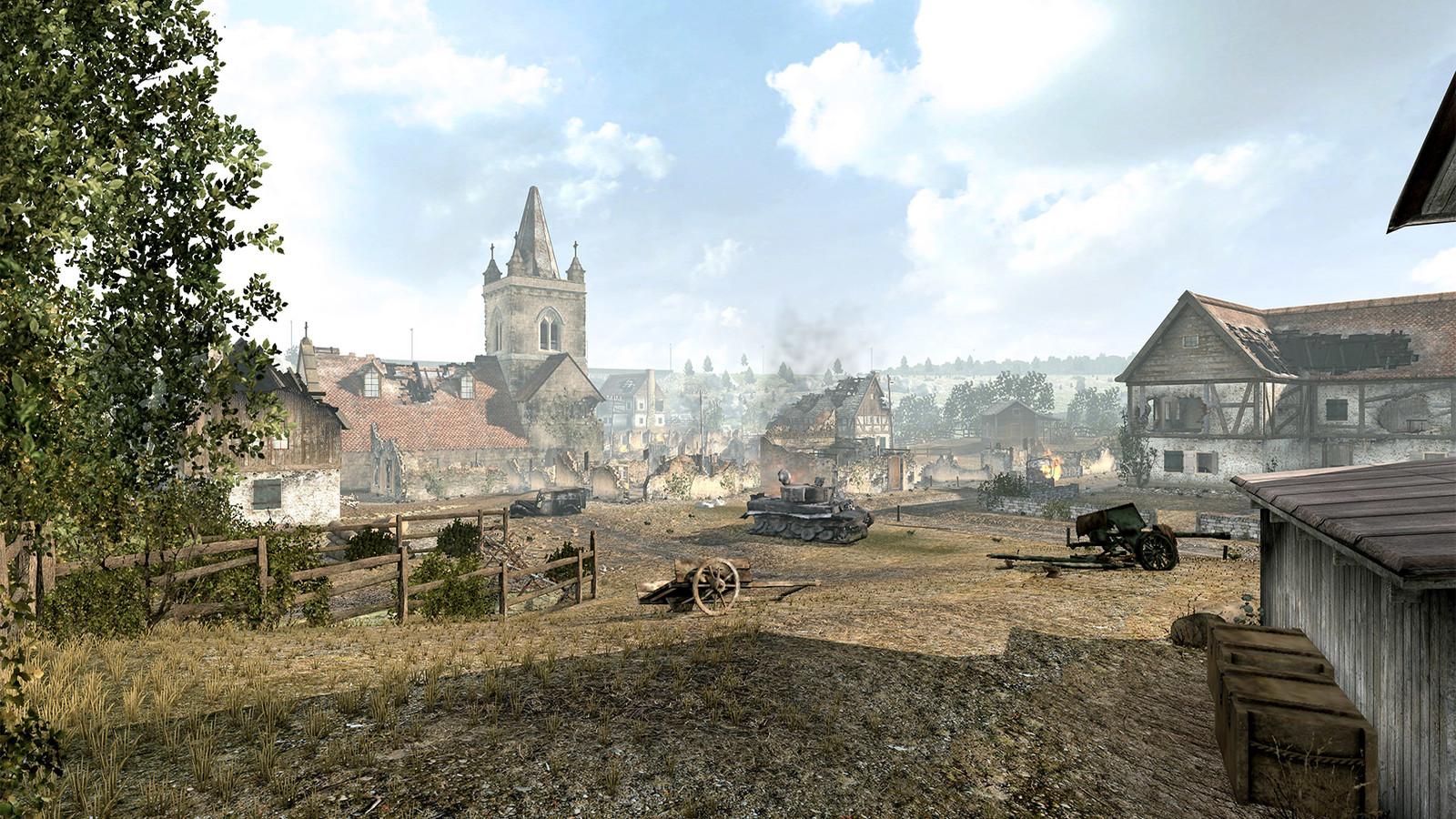 Sniper Elite V2 (2012) DLC Multiplayer map - Graves