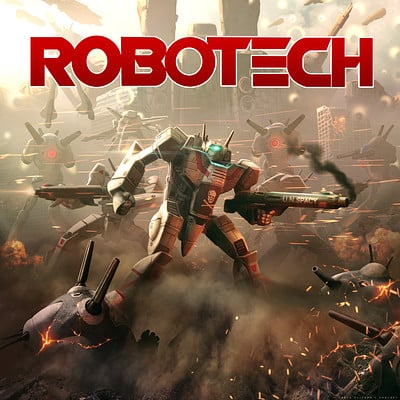 Pablo olivera robotech illustration 01
