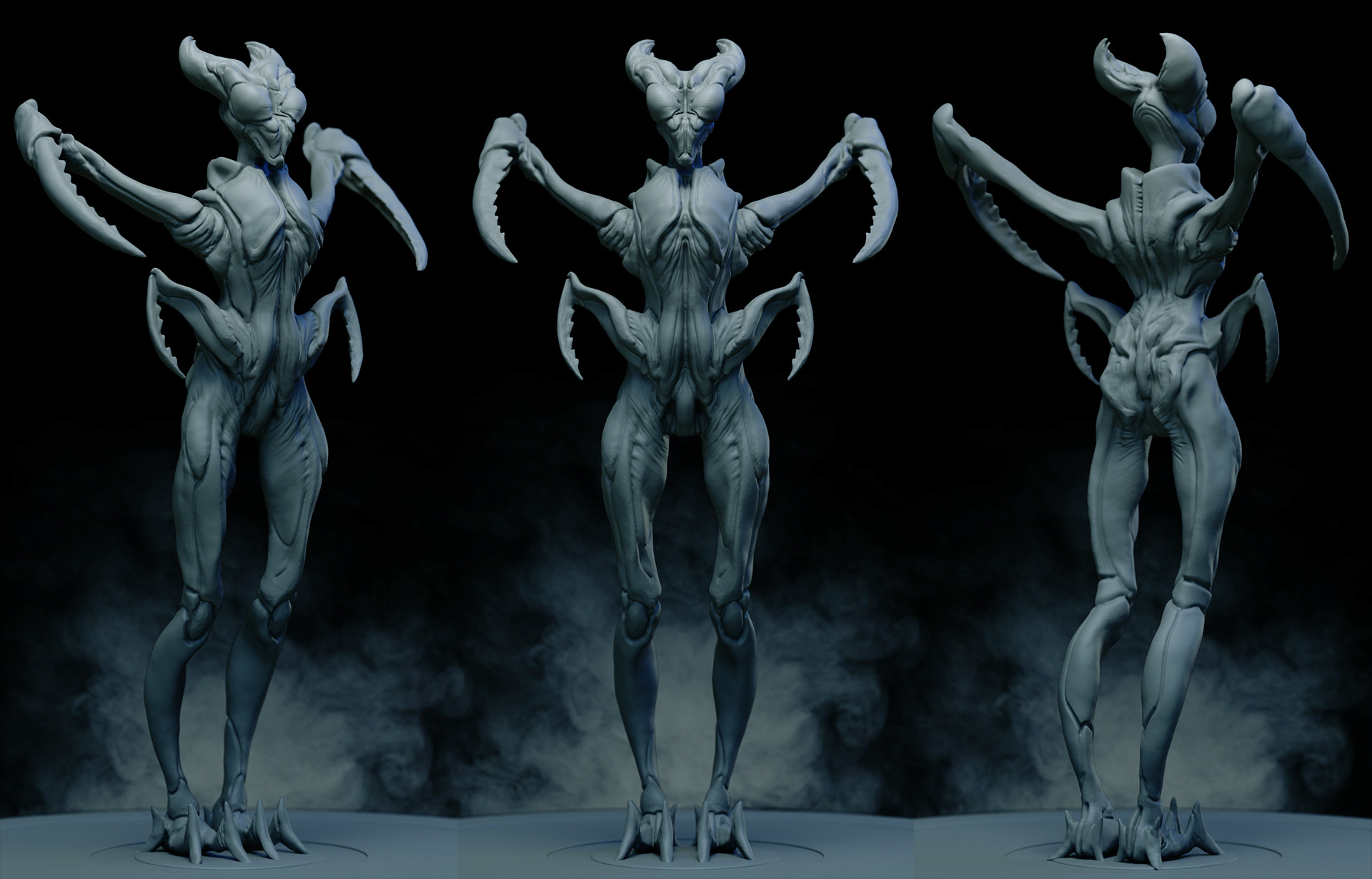 Ilhan yilmaz insectoid render sheet v07