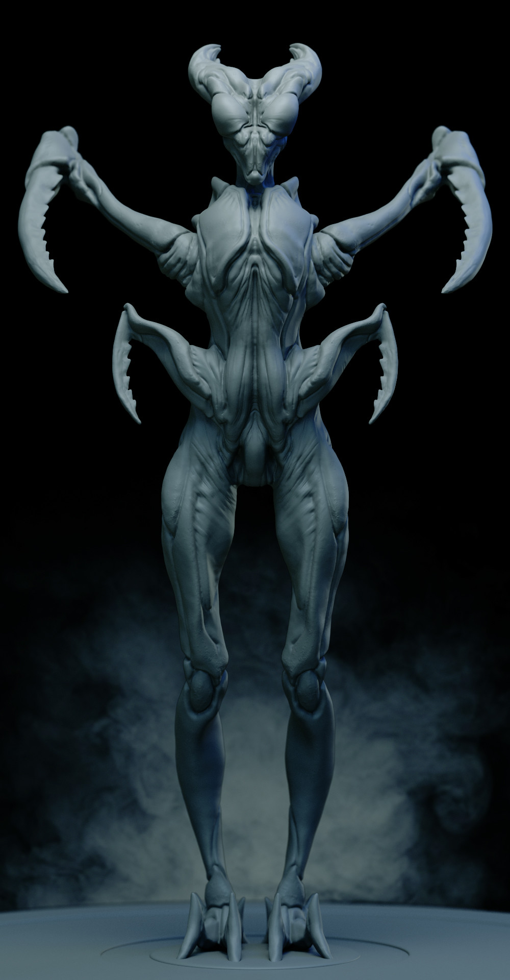 Ilhan yilmaz insectoid render sheet v06