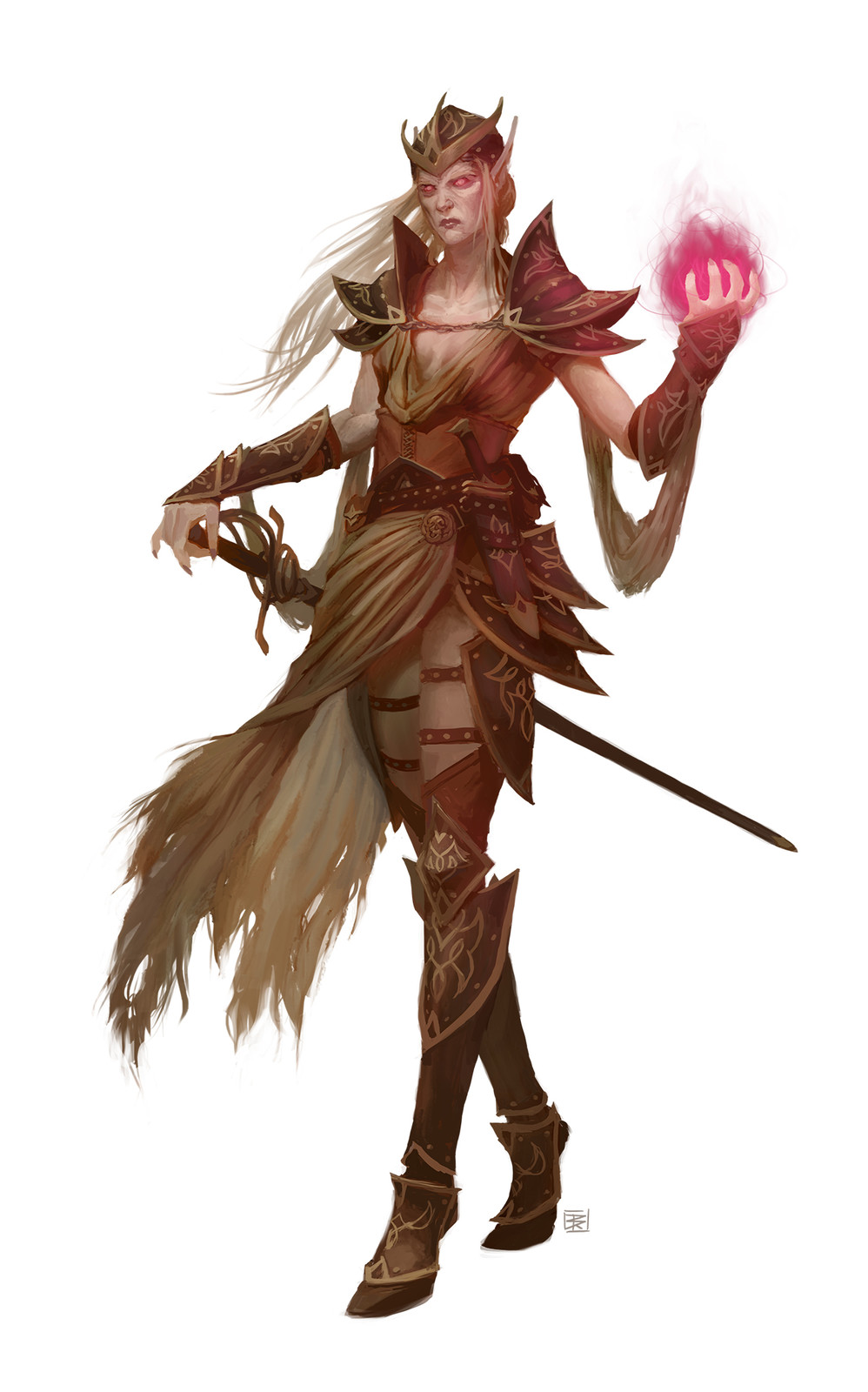 Battle Mage: Elf Wizard
