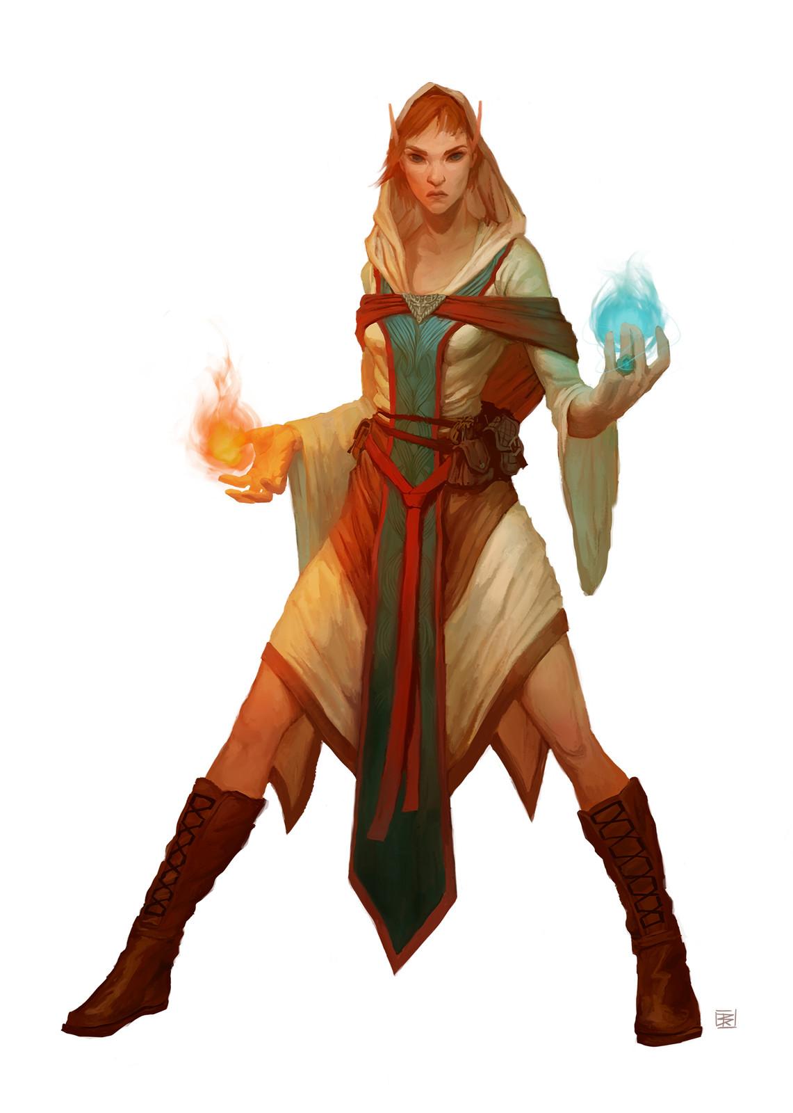 Master Universalist: Elf Wizard