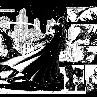 Kenan halilovic dc sample page batman 2 and 3