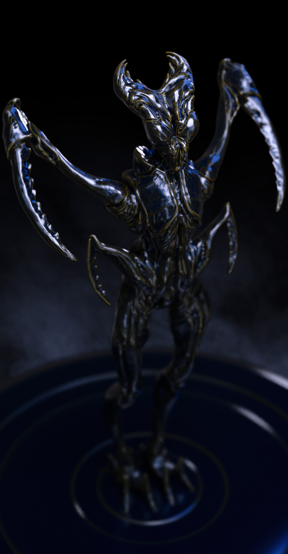 Ilhan yilmaz insectoid render sheet v03