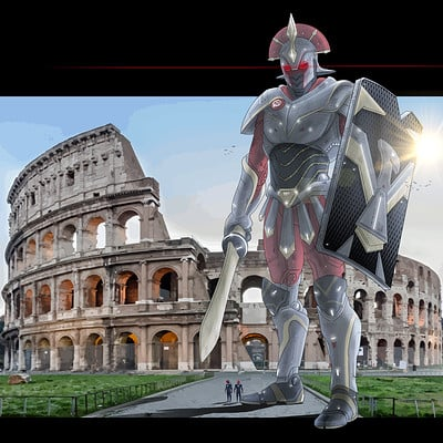Saimon toncelli jaeger rome