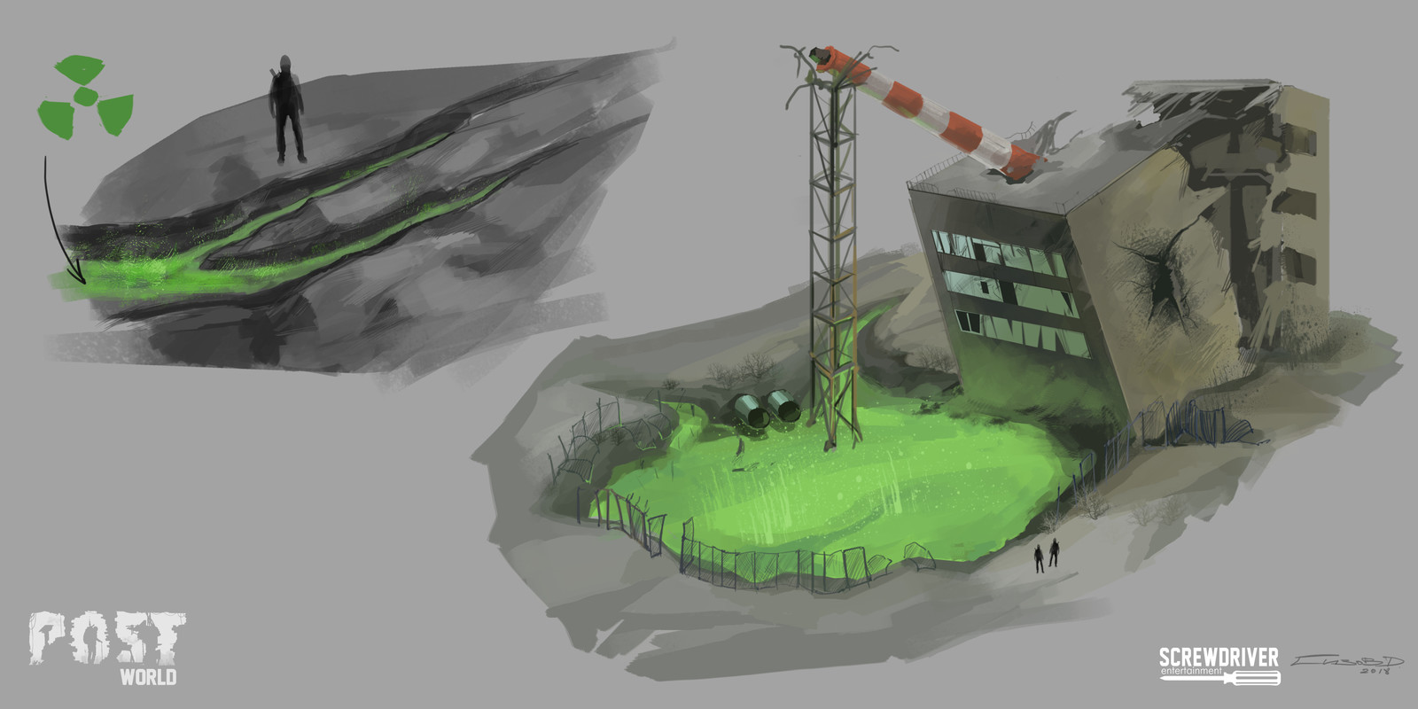Location - Oil industry factory
