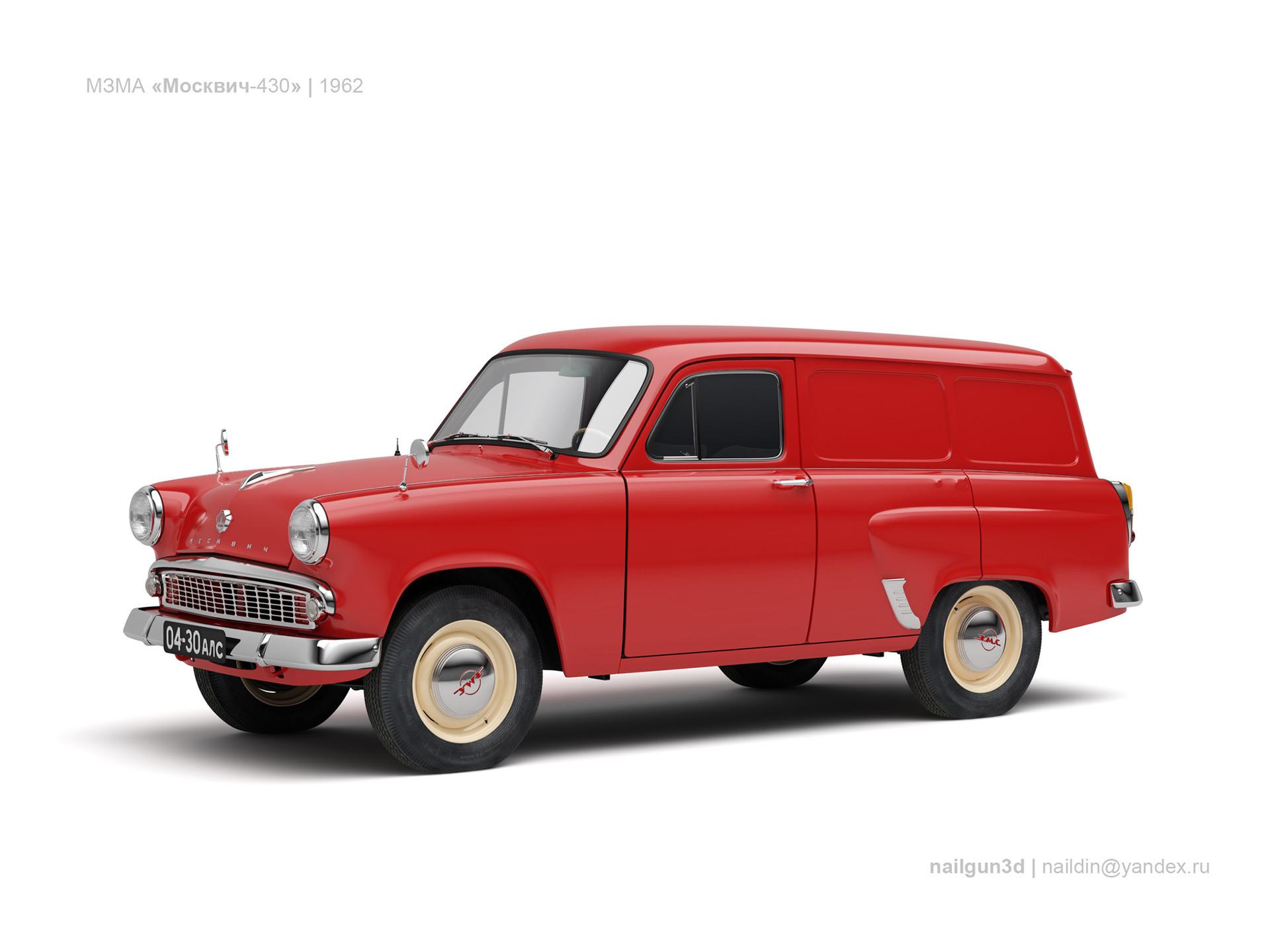 Nail khusnutdinov ussr moskvich 430 1962 0