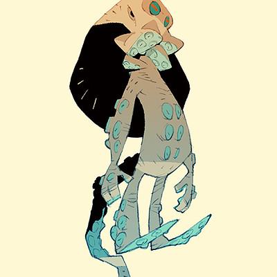 Satoshi matsuura 2018 07 13 octopus alien s
