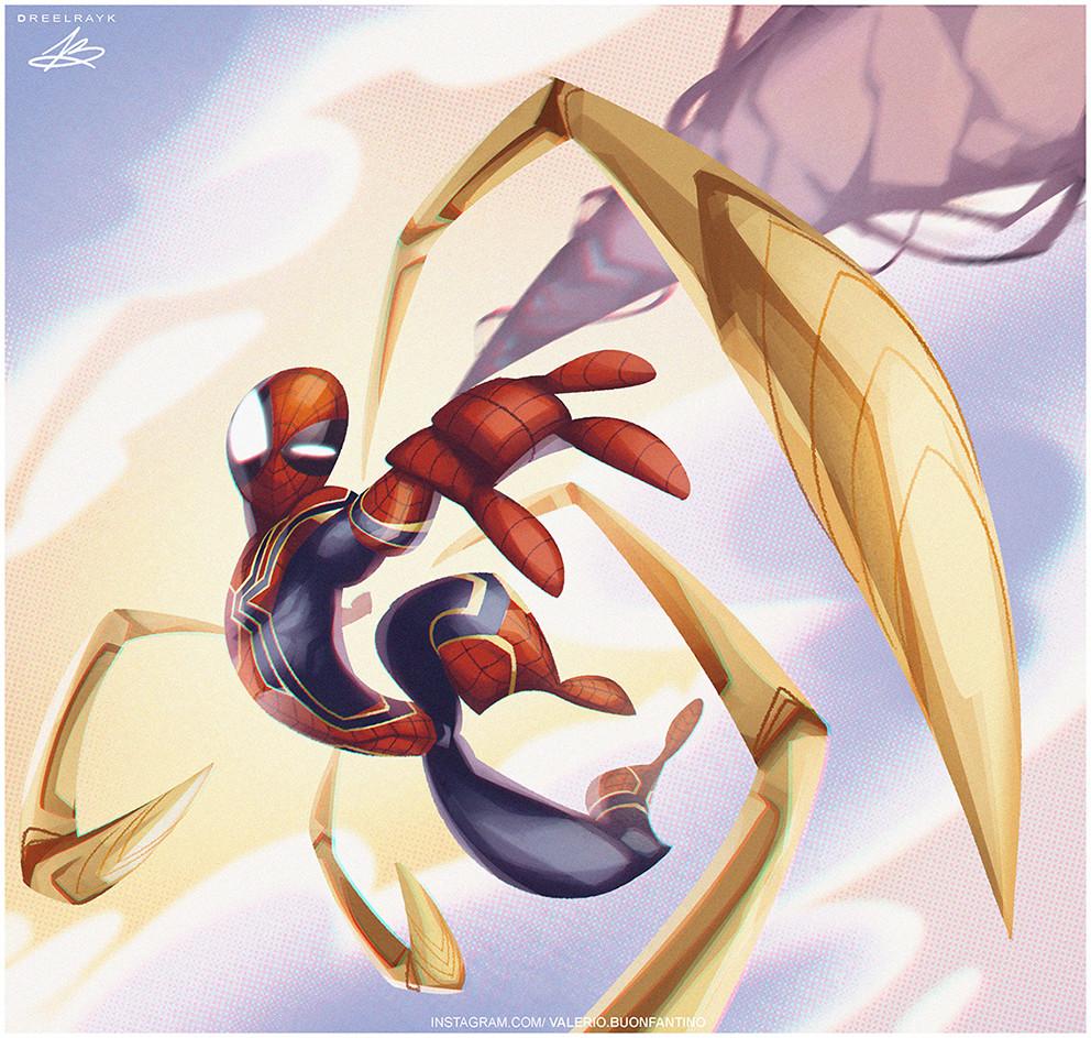 Valerio dreelrayk buonfantino spiderman copia