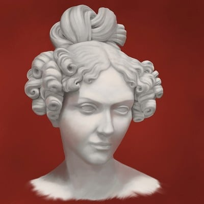 Christian muller 2018 07 17 female bust study re