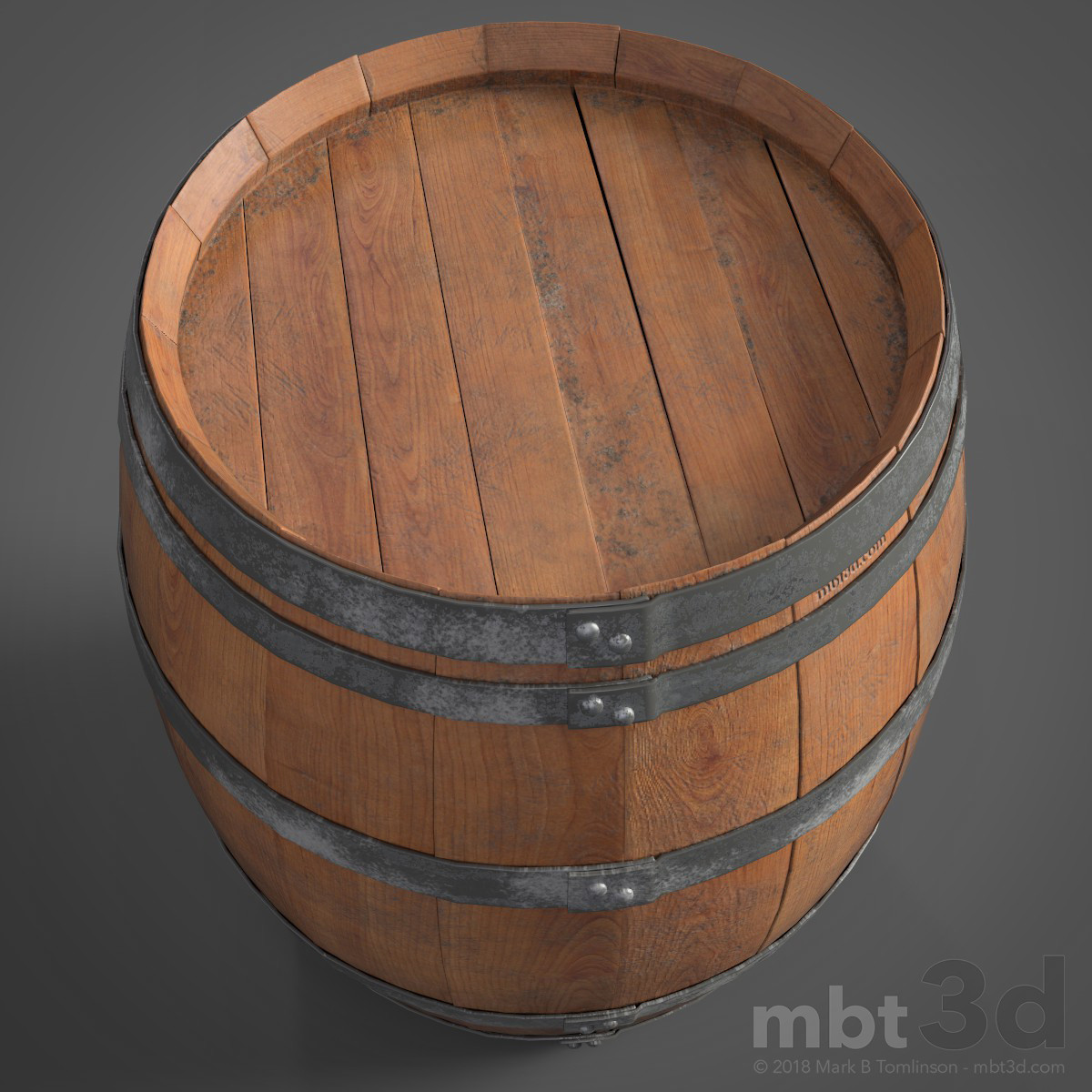 Wine Barrel Top