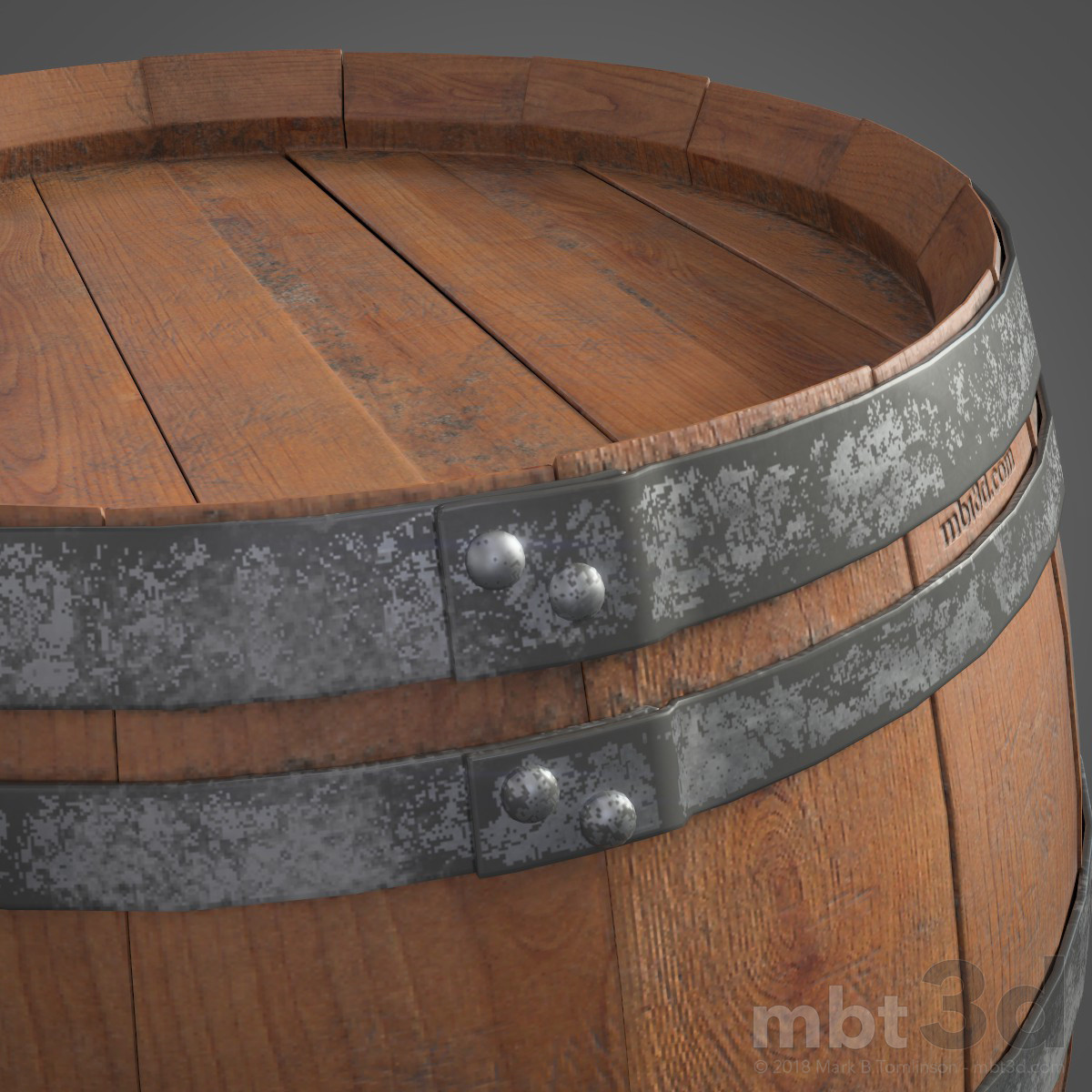 Wine Barrel Top Band