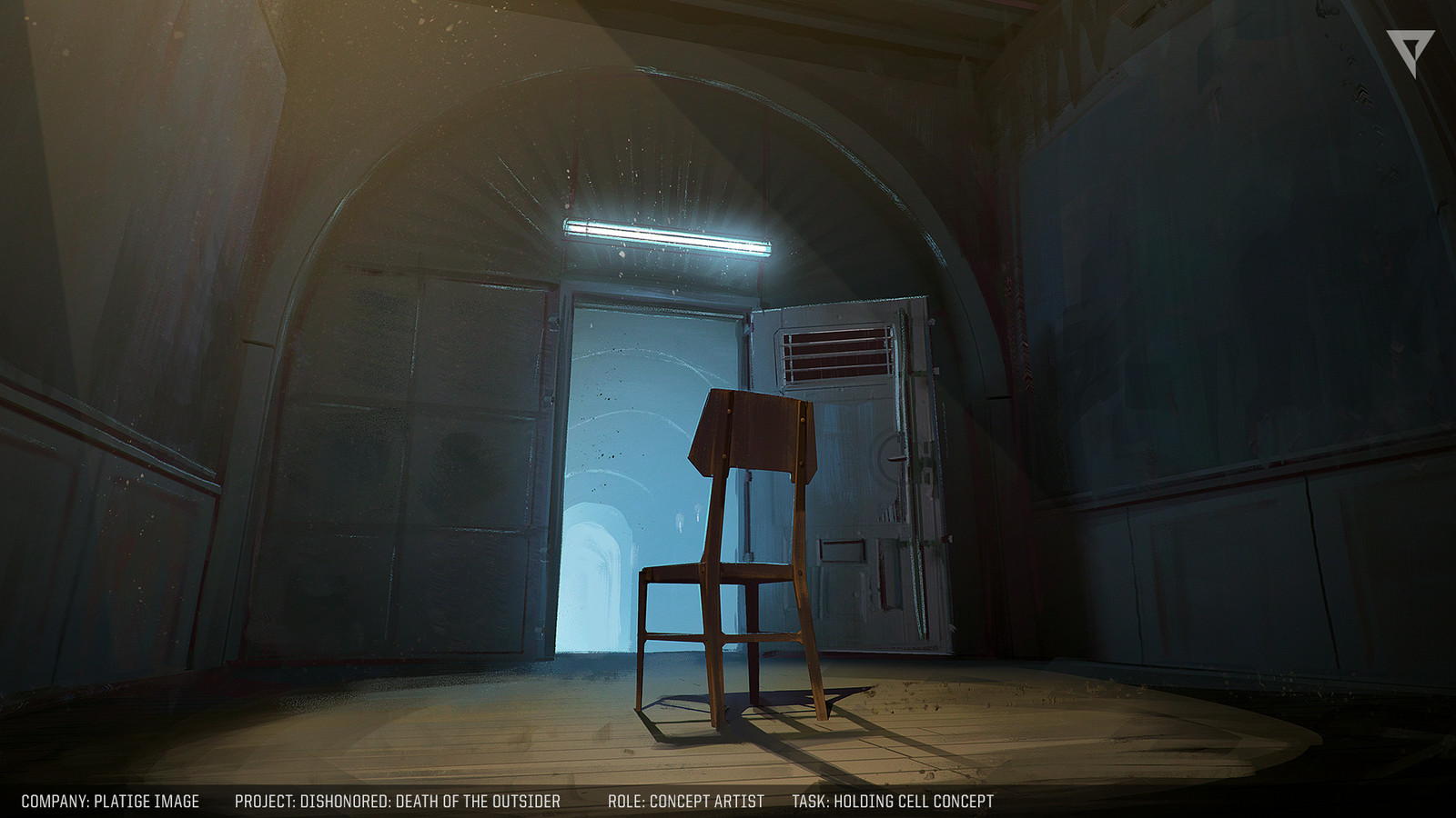 Concept for a holding cell.