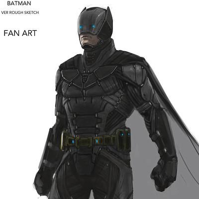 Constantine sekeris batman rough sketch detaila
