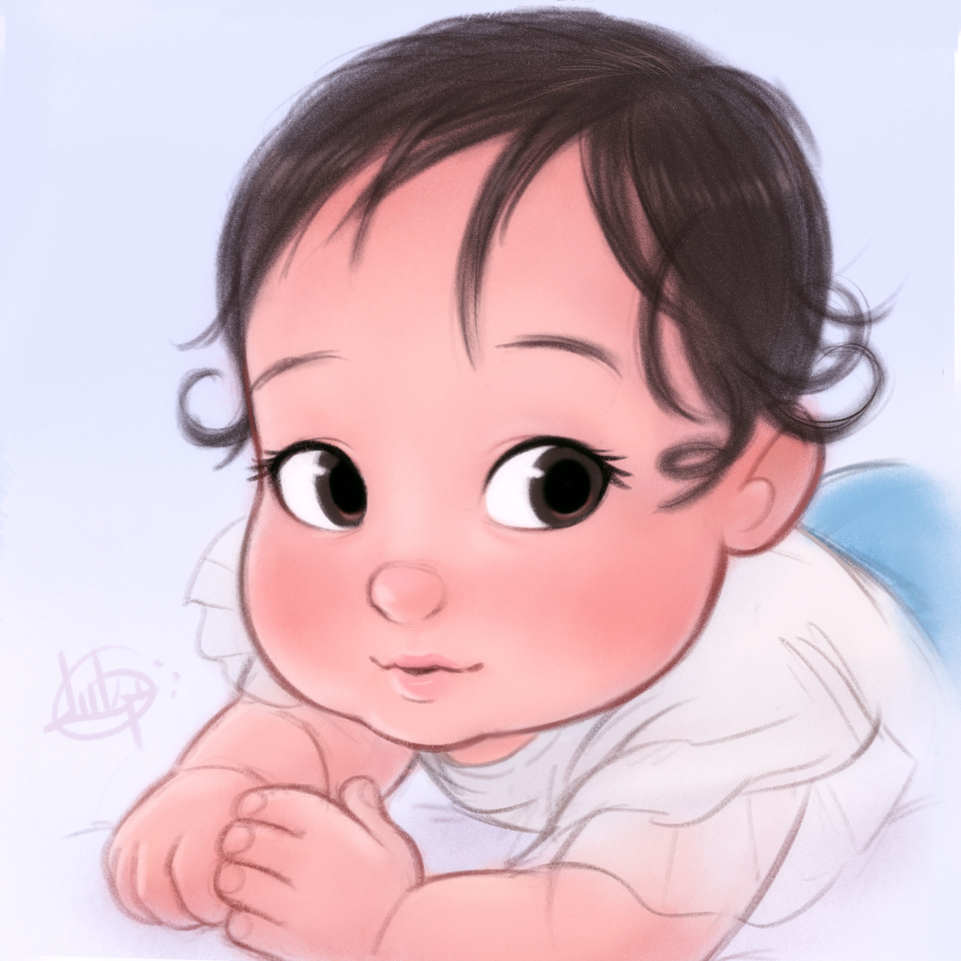 Luigi lucarelli reina 7 months old