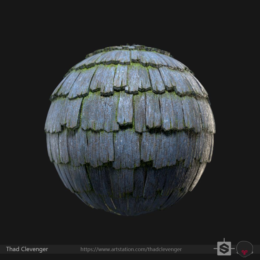 Thx clevenger shingles mossy01