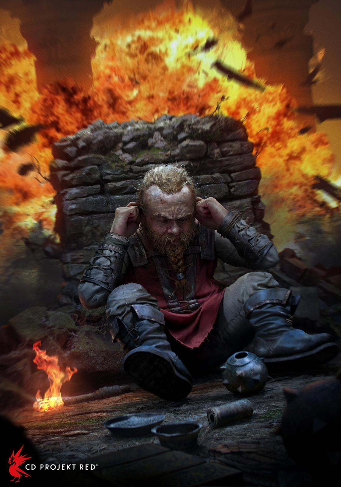 Dwarf Pyrotechnician