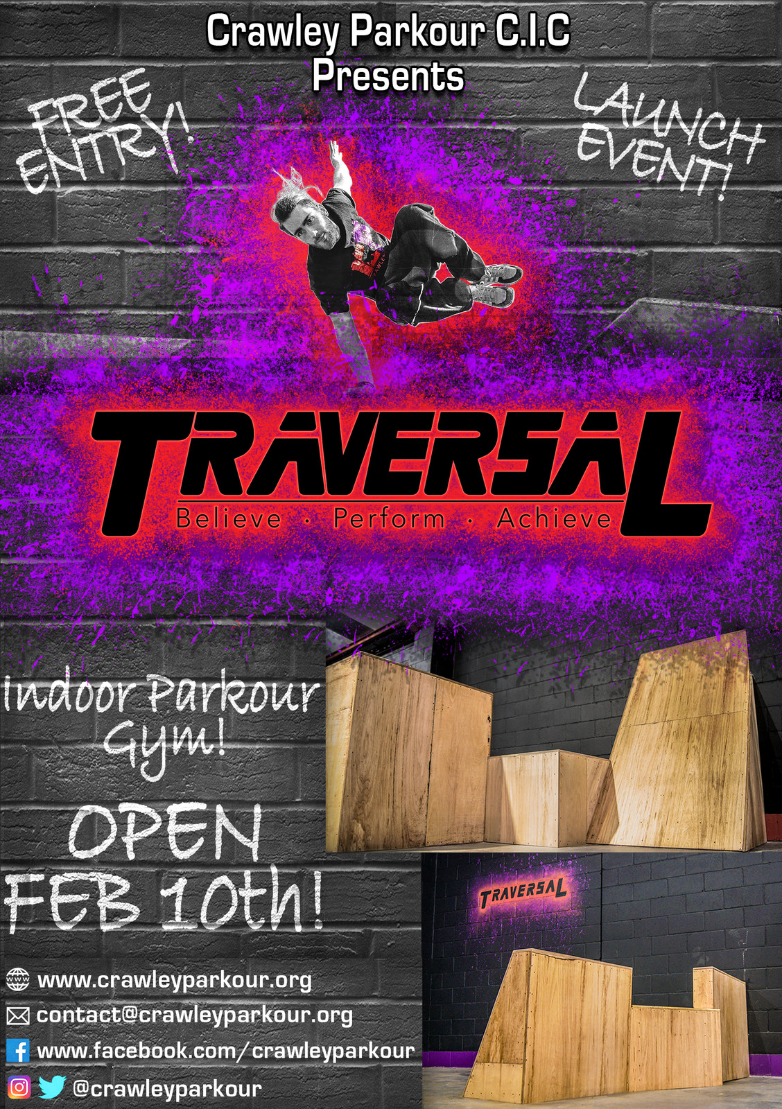 Opening Flyer front